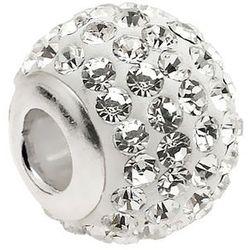Srebrny charms pandora kulka kuleczka shamballa Swarovski srebro 925 ALBEAD0120S