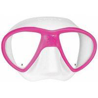 Maski, płetwy i fajki, Maska do nurkowania MARES X-Free 411060 Biało-różowy + DARMOWY TRANSPORT!