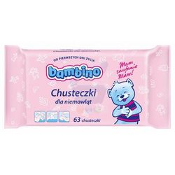 Chusteczki dla niemowląt Bambino (4x63 sztuki)