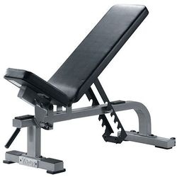 YORK Flat To Incline Bench Silver - 55027 - Ławka do ćwiczeń