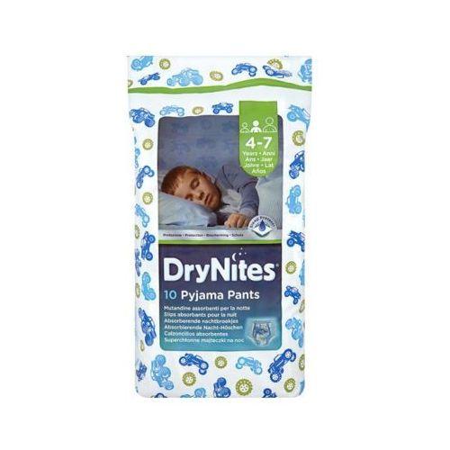 Pozostałe pieluchy, HUGGIES DryNites BOY (17-30kg) majteczki na noc 10szt pieluszki