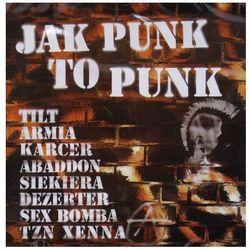 Jak punk to punk 1 (CD) - Various Artists OD 24,99zł DARMOWA DOSTAWA KIOSK RUCHU