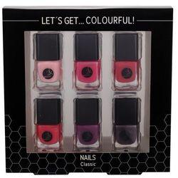 2K Let´s Get Colourful! Classics zestaw 5 ml Lakier do paznokci 6 x 5 ml dla kobiet