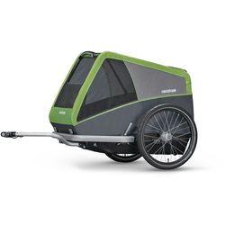 Croozer Dog XL Przyczepka rowerowa szary/zielony 2019 Przyczepki dla psów Przy złożeniu zamówienia do godziny 16 ( od Pon. do Pt., wszystkie metody płatności z wyjątkiem przelewu bankowego), wysyłka odbędzie się tego samego dnia.