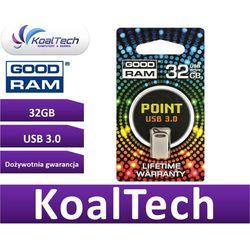 GOODRAM FLASHDRIVE 32GB USB 3.0 POINT SILVER