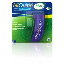 NIQUITIN mini 4mg x 20 tabletek do ssania