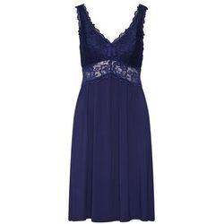 Hunkemöller Koszula nocna 'SD Modal Lace' ciemny niebieski