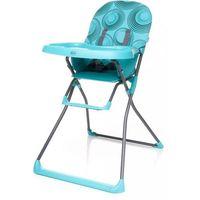 Krzesełka do karmienia, 4BABY Krzesełko Flower – turkusowe - BEZPŁATNY ODBIÓR: WROCŁAW!