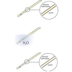 Cewnik wewnętrzny Nelaton powlekany warstwą hydrofilową GALMED - CH16