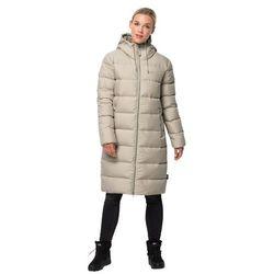 Płaszcz puchowy damski CRYSTAL PALACE COAT dusty grey - L