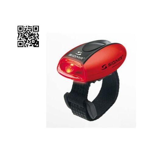 Oświetlenie rowerowe, Sigma - SIGMA Lampka rowerowa tylna MICRO - kolor czerwony