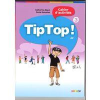Książki do nauki języka, Tip Top 3 A2 Ćwiczenia - Adam Catherine, Gonzalez Sonia (opr. kartonowa)
