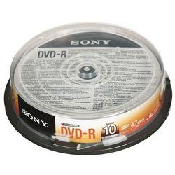 DVD-R Sony 4,7GB 10szt.- natychmiastowa wysyłka, ponad 4000 punktów odbioru!