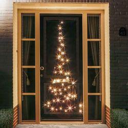Kontur choinki na drzwi Fairybell® – 2,10 m