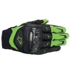 Rękawiczki Alpinestars S-MX 2 AIR CARBON Zielone