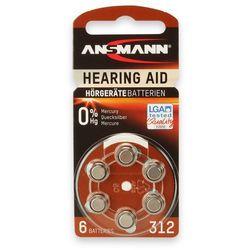 Bateria ANSMANN Hearing Aid 312 (6 szt.)