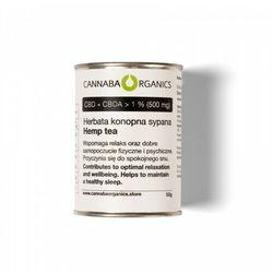 Herbata z kwiatostanów konopi (50 gram)