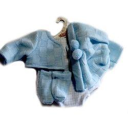 Niebieski strój dla chłopca 38 cm Llorens