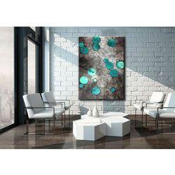 Obraz ręcznie malowany 70x100cm boki 4cm rabat 15%