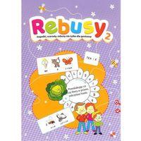Książki dla dzieci, Rebusy część 2 (opr. miękka)