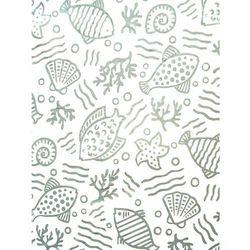 Bisk Zasłonka prysznicowa Basic Sea 180 cm x 200 cm