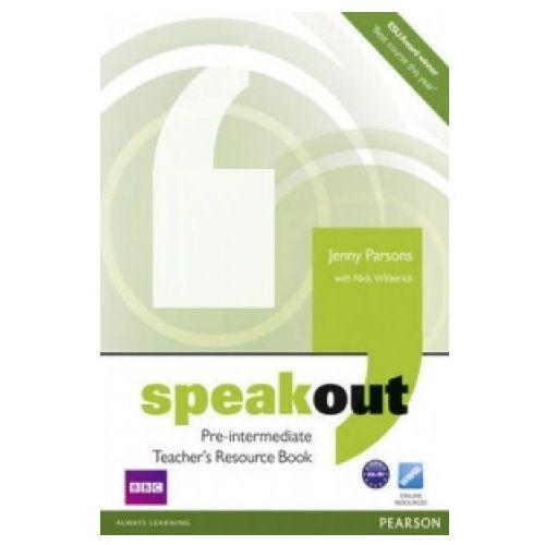 Książki do nauki języka, Speakout Pre-Intermediate, Teacher's Book (książka nauczyciela) (opr. miękka)