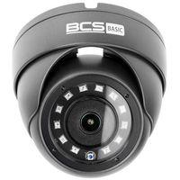 Kamery przemysłowe, BCS-B-MK42800 Kamera kopułowa 4MPx 4in1 Monitoring CVI TVI AHD CVBS obiektyw 2.8mm