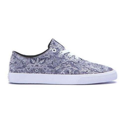 Damskie obuwie sportowe, buty SUPRA - Womens Wrap Grey/Pattern-White (GPA)