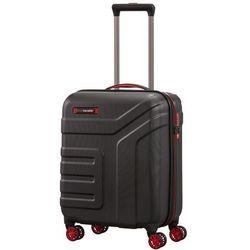 Travelite Vector mała walizka kabinowa 20/55 cm / Czarny - czarny