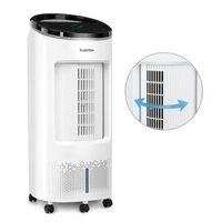Klimatyzatory przenośne, Klarstein IceWind Plus Chłodnica powietrza 65 W timer 330 m³/h pilot zdalnego sterowania kolor biały