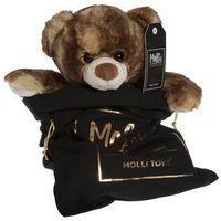 Pozostałe zabawki, Molli Toys Premium Miś brązowy 32 cm