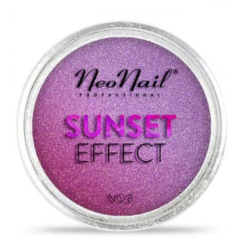 Ozdoby na paznokcie, NeoNail SUNSET EFFECT Pyłek No 03