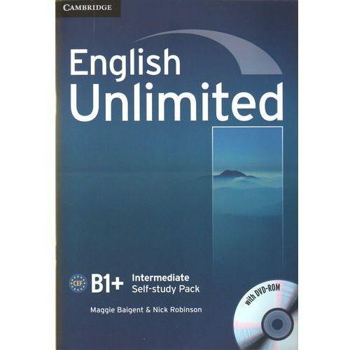 Książki do nauki języka, English Unlimited Intermediate Workbook (zeszyt ćwiczeń) with DVD-ROM (lp) (opr. miękka)