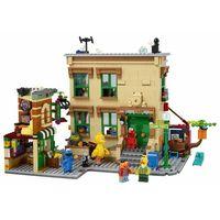 Klocki dla dzieci, Lego CITY Ulica sezamkowa 123 sesame street 21324