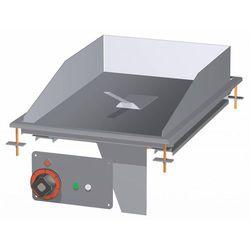 Płyta grillowa | gładka | 356x550mm | 4500W | 400x600x(H)220mm