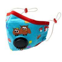 Maseczki i przyłbice ochronne, Maska D z filtrem i zaworem oddechowym RED OWL