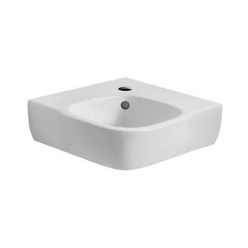 Umywalki, KOŁO Umywalka narożna STYLE 50 cm, z otworem/REFLEX Kod produktu: L21750-900