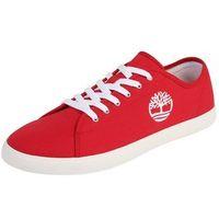 Buty sportowe dla dzieci, TIMBERLAND Półbuty 'Newport Bay Canvas Ox' czerwony