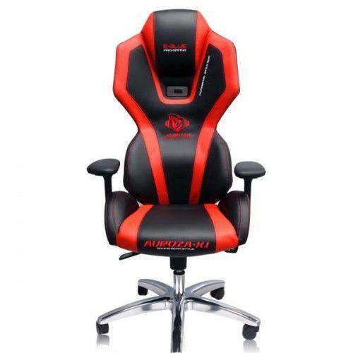 Fotele dla graczy, Fotel E-Blue AUROZA Czarno-czerwony (EEC301REAA-EA) Darmowy odbiór w 21 miastach!