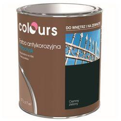 Farba antykorozyjna Colours ciemna zielona 0,7 l