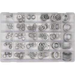 Podkładki aluminiowe zestaw 300 szt. mix rozmiarów YT-06865 - ZYSKAJ RABAT 30 ZŁ