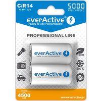 Akumulatorki, Akumulatorki EVERACTIVE Ni-MH R14 C 5000 mAh Professional Line (2 szt.)