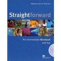 Książki do nauki języka, Straightforward Pre-Intermediate Zeszyt Ćwiczeń Plus Audio CD (z Kluczem) (opr. miękka)