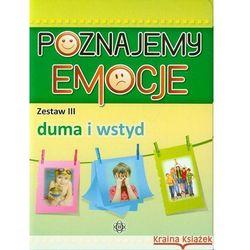 Poznajemy emocje. Zestaw III Duma i wstyd (opr. kartonowa)