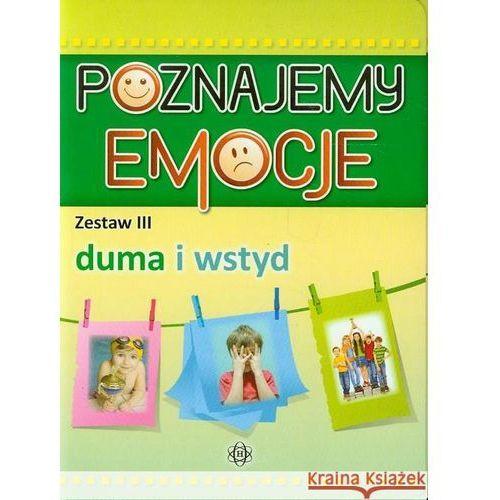 Pedagogika, Poznajemy emocje. Zestaw III Duma i wstyd (opr. kartonowa)