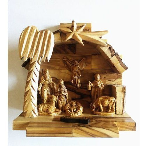 Książki religijne, Szopka Betlejemska drewniana z figurkami