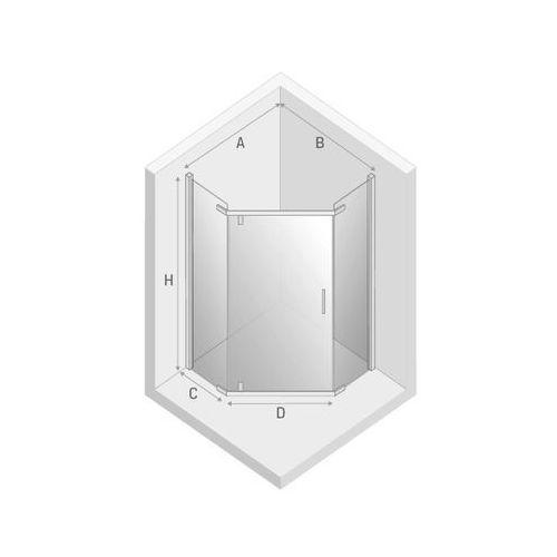 Kabiny prysznicowe, New Trendy Komfort 90 x 90 (K-0294)