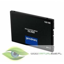 GOODRAM Dysk CL100 G3 120GB SATA3 2,5