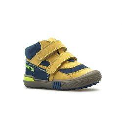 Półbuty profilaktyczne dziecięce Bartek 91756 Żółto-niebieskie