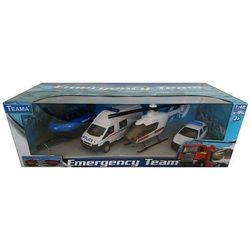 Teama pojazdy ratunkowe Policja 1:48